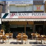 Fachada de la Pizzería Sant Marçal