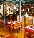 .Interior de la Pizzería Sant Marçal