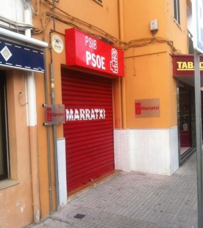 La sede del PSOE de Marratxí