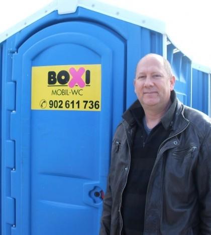Clifford Kretschmer, administrador de Boxi Mòbil WC
