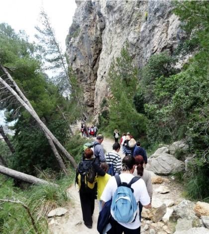 Medio centenar de vecinos se apuntan a las excursiones desde Son Macià Nova Cabana