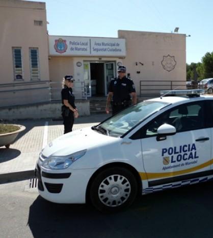 Agentes de la Policía Local de Marratxí