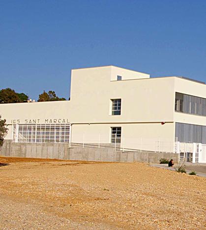 Nuevo edificio del IES Sant Marçal de Marratxí