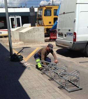 aparcamientos biciceltas de SFM