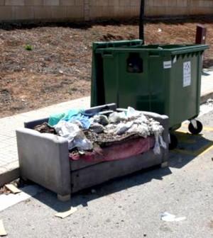 foto denuncia calle sicilia
