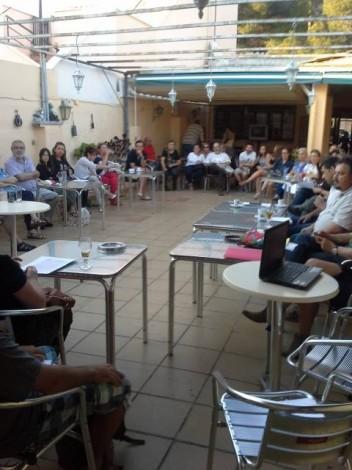 Primera asamblea de Podemos Marratxí el pasado mes de junio
