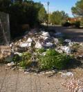 uno de los multiples montones de residuos que se encuentran en la calle