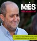 Cartel electoral Joan Francesc Canyelles