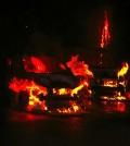 Incendio coches Calle Oleza