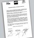 Carta referendum Catalunya