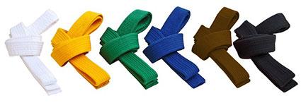 los-cinturones-de-Taekwondo