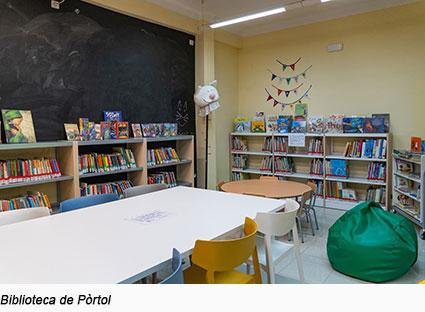 Biblioteca-Pòrtol