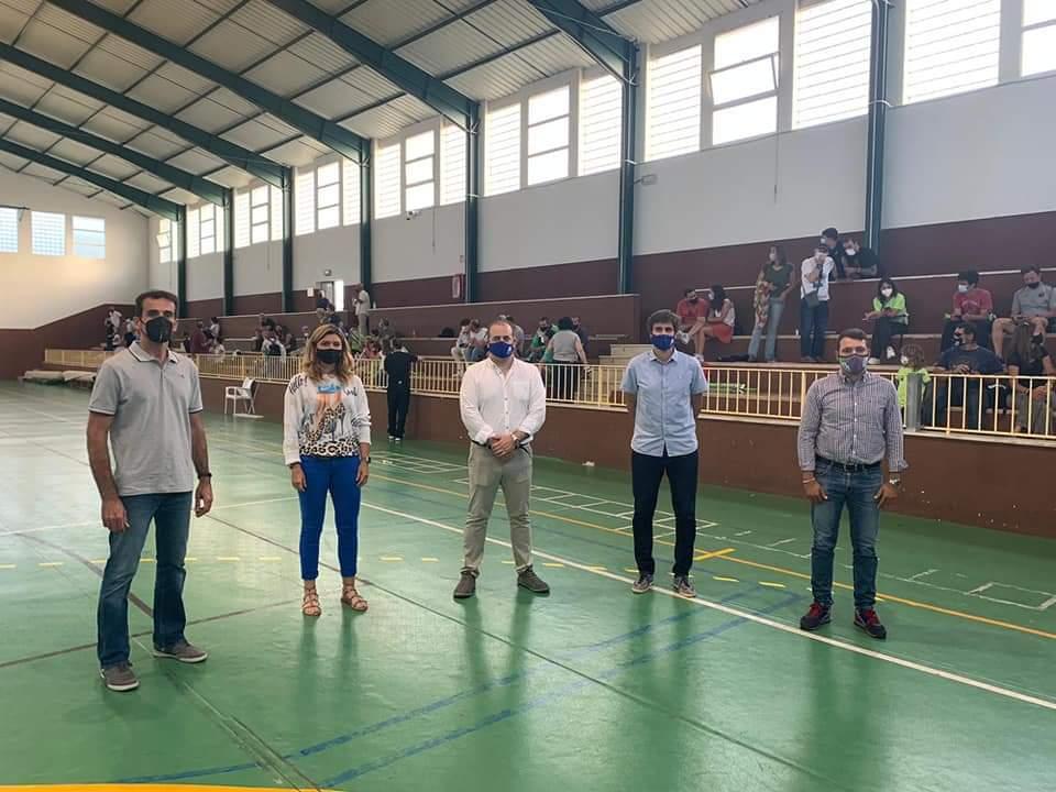 Autoridades partido contra Cartagena