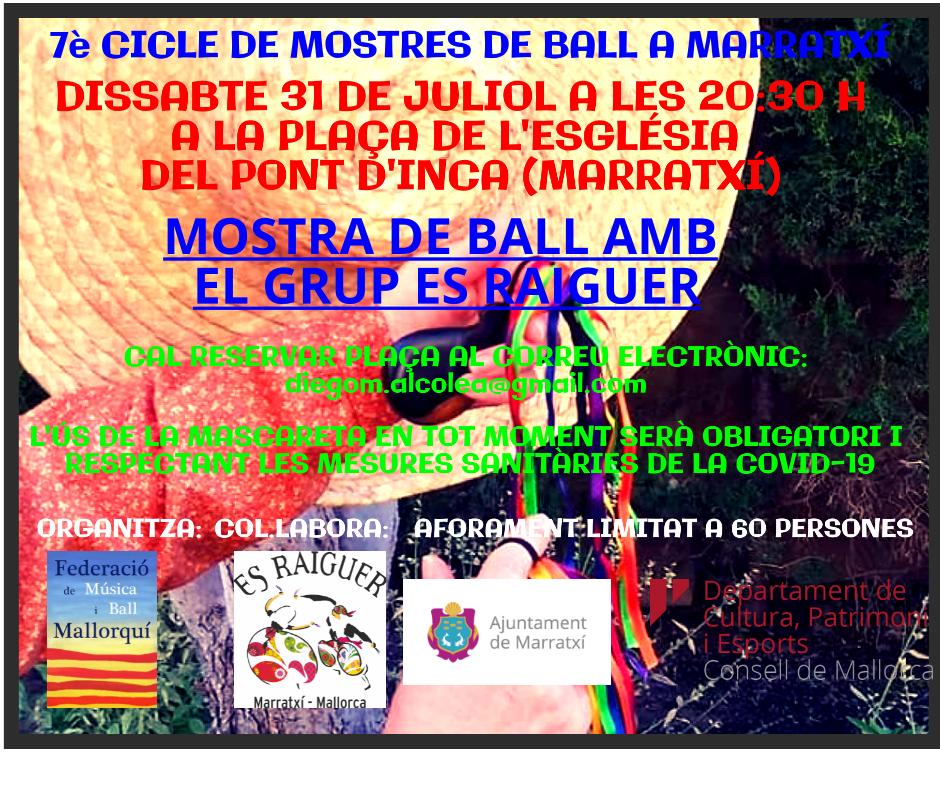 MOSTRA DE BALL 31 DE JULIOL 202