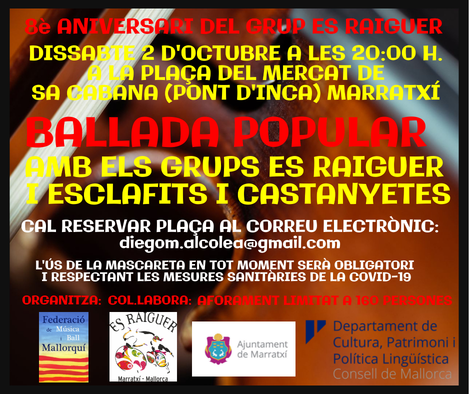 BALLADA POPULAR 02 D'OCTUBRE 2021 ES RAIGUER
