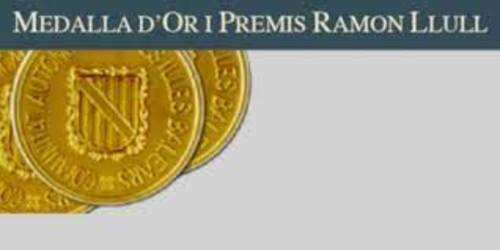 Medalla de oro Premio Ramón Llul